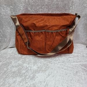 Trend lab diaper bag. Burnt orange
